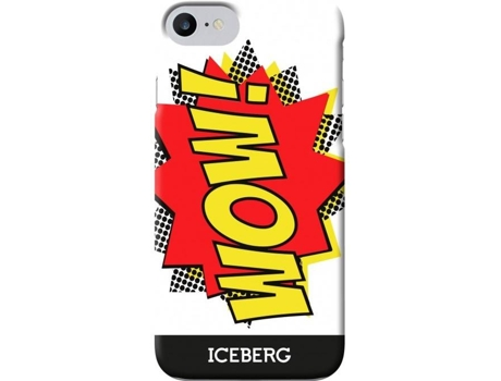 Capa ICEBERG Comics iPhone 6/6s/7 Wow — Compatibilidade: iPhone 6/6s/7