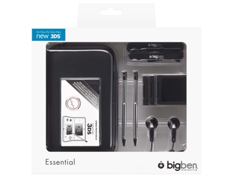 Pack Essencial BIG BEN Nintendo 3DS — Nintendo 3DS