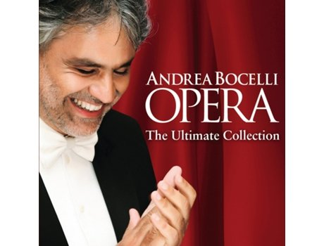 CD Andrea Bocelli - Opera The Ultimate Collection — Clássica