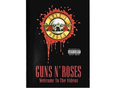 CD+DVD Guns'n'Roses - Welcome To The Videos — Pop-Rock