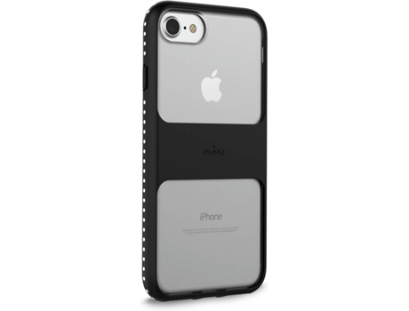 Capa PURO Magnet Shield iPhone 6, 6s, 7, 8 Preto — Compatibilidade: iPhone 6, 6s, 7, 8