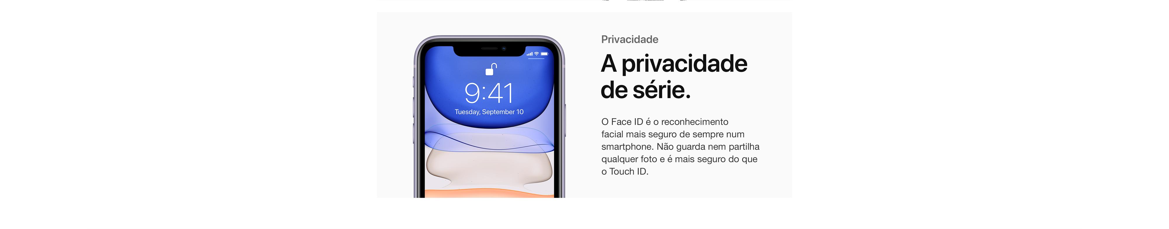 A privacidade de série.
