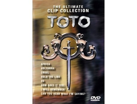 DVD Toto - The Ultimate Clip Collection