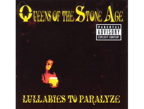 CD Queens of The Stone Age - Lullabies to Paralyze — Pop-Rock