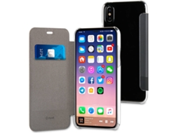 Capa MUVIT Libro iPhone X Preto — Compatibilidade: iPhone X