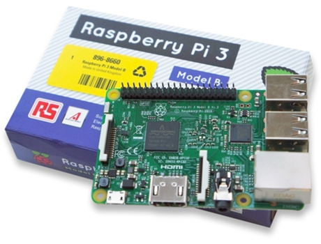 RASPBERRY-PI3 Model B 1GB — Cortex A53 1.2 GHz | 1 GB RAM