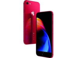 Smartphone APPLE iPhone 8 64GB Vermelho SE — iOS 11 | 4.7'' | A11 Bionic