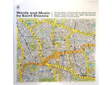 Vinil Saint Etienne: Words And Music By Saint E — Pop-Rock