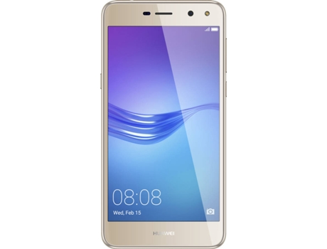 Smartphone MEO HUAWEI Y6 2017 16GB Dourado — Android 6.0 / 5'' / Quad-core 1.4 GHz / 2GB RAM