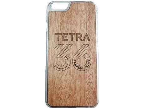 Capa G-CODE SLB Logo 36 iPhone 6, 6s Castanho — Compatibilidade: iPhone 6, 6s