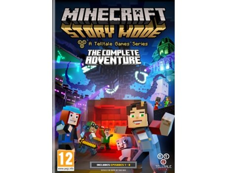 Jogo PC Minecraft Story Mode - The Complete Adventure