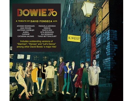 CD David Fonseca (Tribute by) - Bowie 70