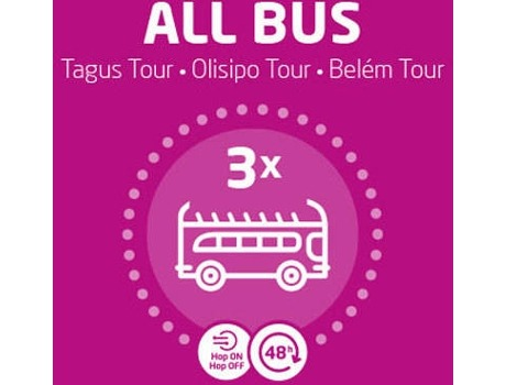Bilhete Evento All Bus — Lisboa