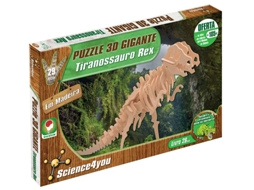 Puzzle 3D SCIENCE4YOU Tiranossauro Rex