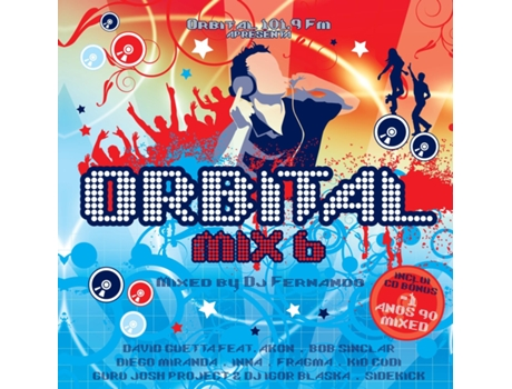 CD Orbital Mix 6 - Mixed By Dj Fernando — House / Electrónica