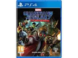 Jogo PS4 Guardians Of The Galaxy: The Telltale Series — Ação/Aventura | Idade mínima recomendada: 16