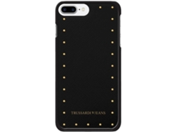 Capa TRUSSARDI Studs iPhone 7 Preto — Compatibilidade: iPhone 7