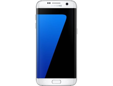 Smartphone SAMSUNG Galaxy S7 Edge 32GB Branco — Android 6.0 / 5.5'' / 4G / Quad Core 2.3 GHz + Quad Core 1.6 GHz