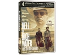 DVD Hell Or High Water - Custe O Que Custar — De: David Mackenzie / Com: Chris Pine,  Ben Foster,  Jeff Bridges