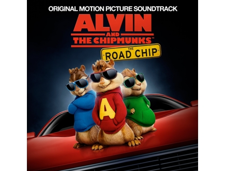 CD Vários - Alvin And The Chipmunks: The Road Chip OST — Pop-Rock