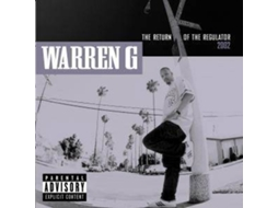 CD Warren G - Return Of The Regulator — Hip-hop
