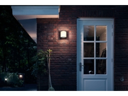 Candeeiro Exterior de Parede PHILIPS Samondra — LED integrado