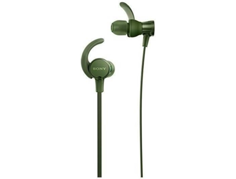 Auriculares Com fio SONY MDR-XB510ASG (In Ear - Microfone - Verde) — In Ear | Microfone | Atende chamadas