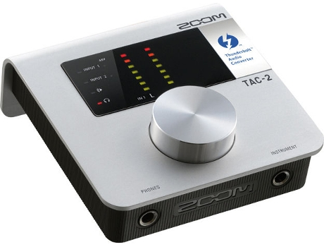 Interface Áudio Thunderbolt ZOOM TAC-2 — Interface de áudio compacto, leve e portátil