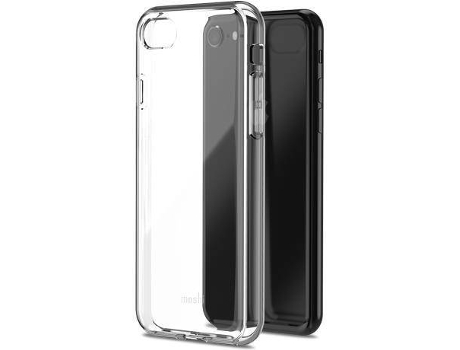 Capa MOSHI Vitros Crystal Clear iPhone 7, 8 Preto — Compatibilidade: iPhone 7, 8