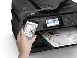 impressora multifun es epson workforce wf 7720dtwf a3. Black Bedroom Furniture Sets. Home Design Ideas