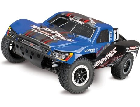 Carro RC TRAXXAS Slash 4x4 4WD OBA & TSM
