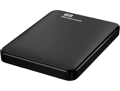 Disco HDD Externo WESTERN DIGITAL Elements (Preto - 500 GB - USB 3.0) — 2.5'' | 500 GB