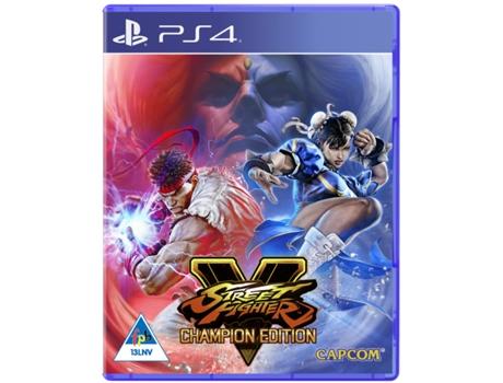 Jogo PS4 Street Fighter V (Champion Edition)