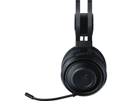 Auscultadores Gaming RAZER Nari Essential (Wireless - Com Microfone - RGB - Preto) — Wireless | 20-20.000 Hz