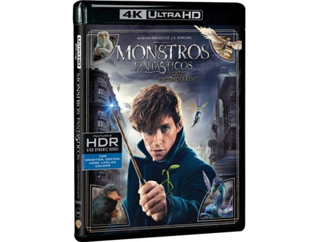 Blu-Ray 4K Monstros Fantásticos — Do realizador David Yates