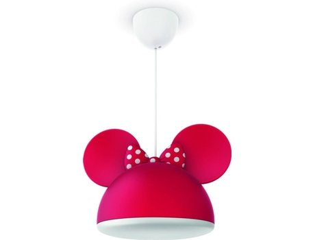 Candeeiro de Teto PHILIPS Minnie Mouse — 15 W | LED integrado
