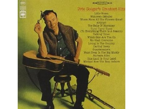 CD  Pete Seeger - Greatest Hits — Pop-Rock