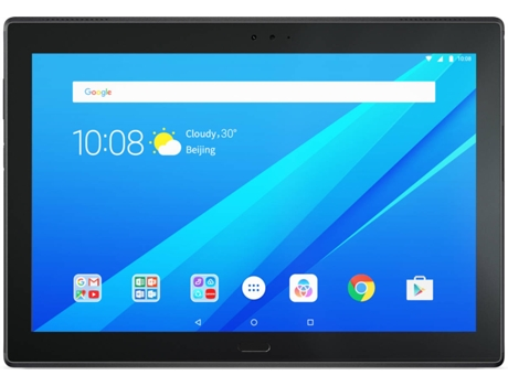 Tablet 4 10'' Plus LENOVO 64GB WIFI Preto — 10'' | 64 GB | Android 7.1.1