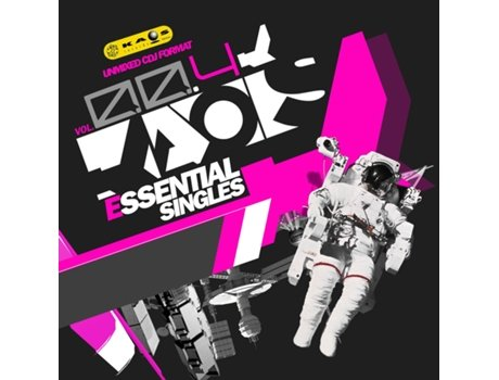 CD Kaos Essential Singles Vol.4 — House / Electrónica