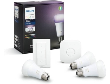 Kit PHILIPS Hue White and Colour Ambience Starter Kit — Smart Lighting | 9.5 W