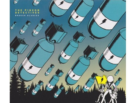 CD The Pigeon Detectives - Broken Glances