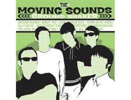 CD The Moving Sounds - Ground Shaker