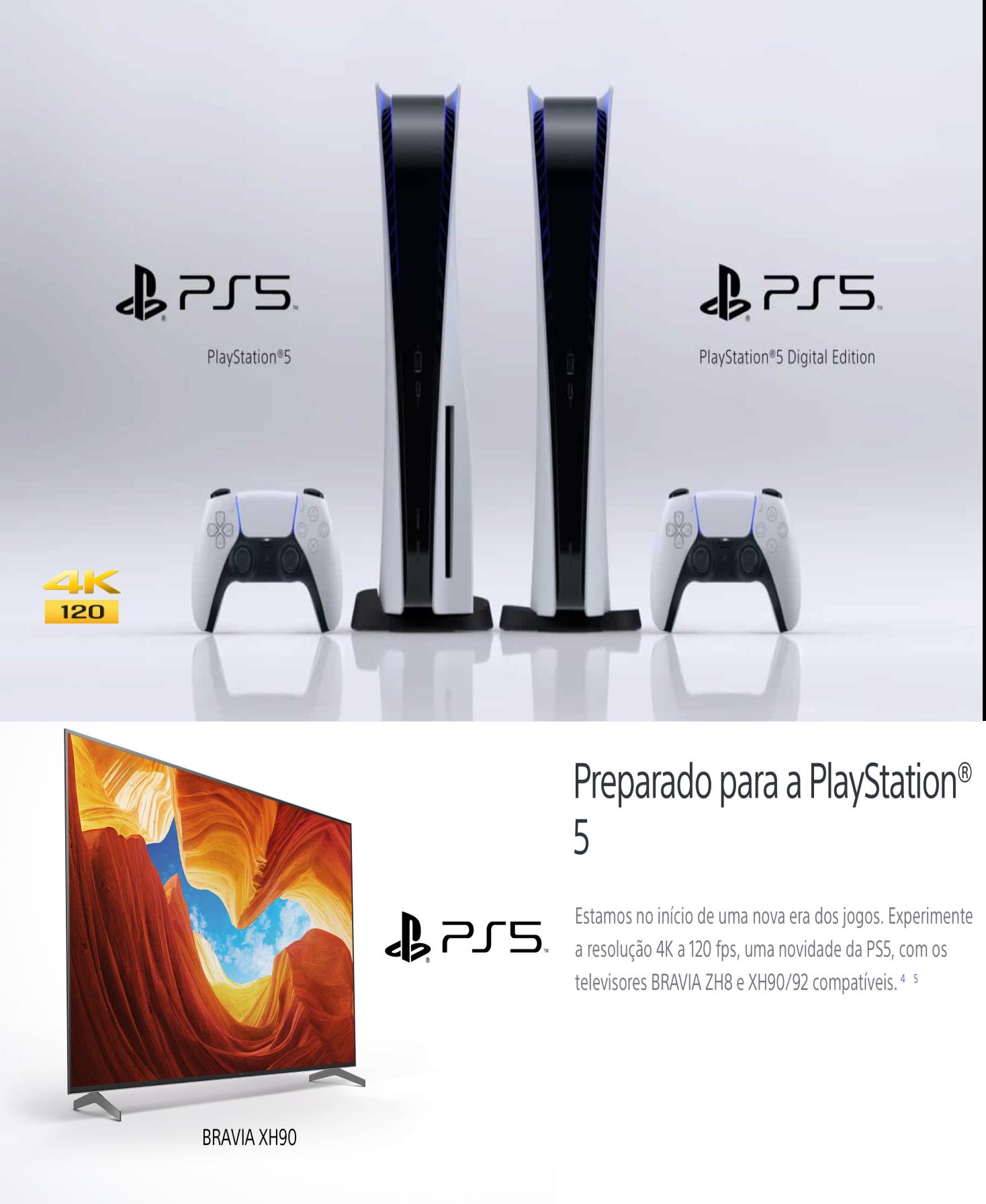 Preparado para a Playstation 5