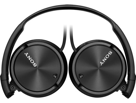 Auscultadores Com fio SONY MDR-ZX110NA (On Ear - Microfone - Noise Canceling - Preto)   [5798429 ]