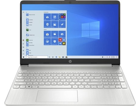 Portátil HP 15S-EQ0011NP (15.6'' - AMD Ryzen 5 3500U - RAM: 12 GB - 512 GB SSD PCIe - AMD Radeon Vega 8) — Windows 10 Home