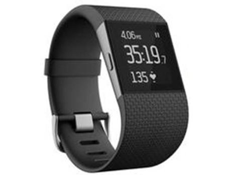 Relógio Desportivo FITBIT Surge (Bluetooth - Até 10 h de autonomia - Ecrã Tátil - Preto)