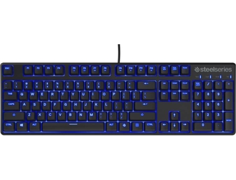Teclado Gaming STEELSERIES Apex M400 Preto — USB / Preto