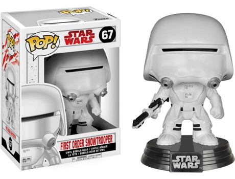 Figura Vinil FUNKO POP! Star Wars: First Order Snowtrooper — Star Wars