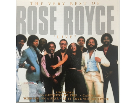 "CD Rose Royce - The Very Best Of Rose Royce ""Live"""